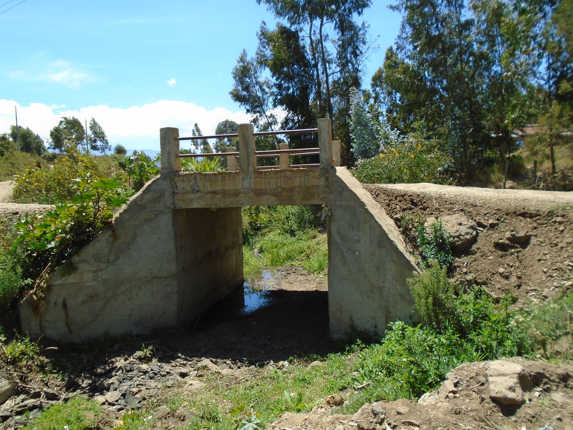 New Foot Bridges and Box Culvert Constructed in Various
