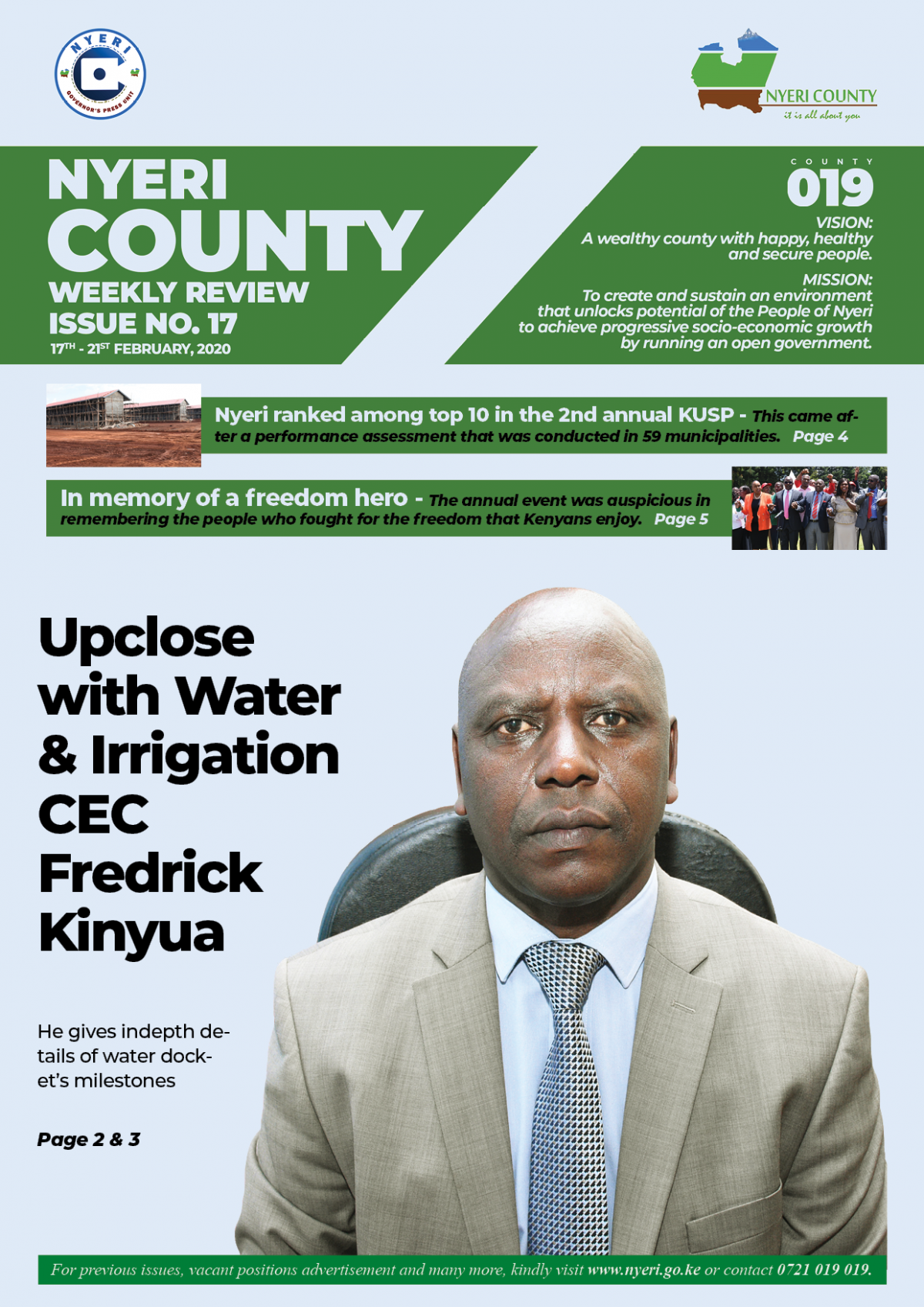 Issue 17 of County Weekly Review