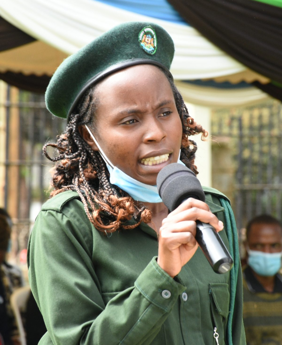 One on one with Enforcement Officer Ann Kathurima