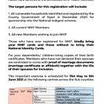 NYERI COUNTY UHC – NHIF MASS BIOMETRIC REGISTRATION