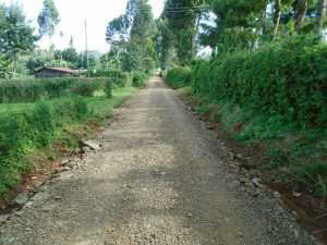 Upgrade of Kiangengi Road